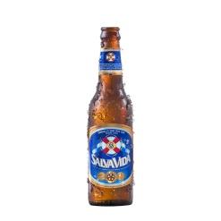 Cerveza SALVA VIDA Botella 24 x 355 ml.