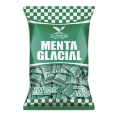 Caramelo MENTA GLACIAL 16 x 400 gr (100 unid. x bolsa)