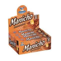 MANICHO Chocolate 12 x 480 gr. (Disp. 12 x 40 gr.)
