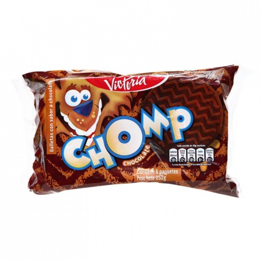 Galletas CHOMP chocolate