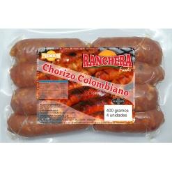 Chorizo Colombiano RANCHERA 24 x 400 gr. (8 und.)