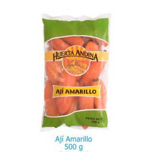 Ají Amarillo Congelado HUERTA ANDINA 18 x 500 gr