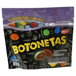 BOTONETAS Chocolate 52 x 85 gr