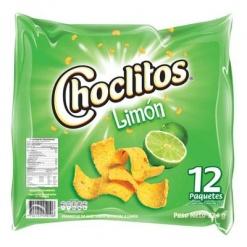 CHOCLITOS al Limón (8 Display 12 u) x 30 gr.