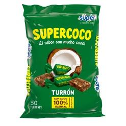Caramelo Turrón Supercoco Bolsa 36 x 50
