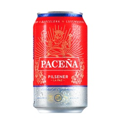 Cerveza PACEÑA Lata 24 x 355 ml.