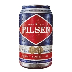 Cerveza PILSEN Lata 12 x 354 ml. (Paraguay)
