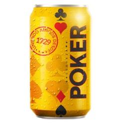 Cerveza POKER Lata 24 x 355 ml.