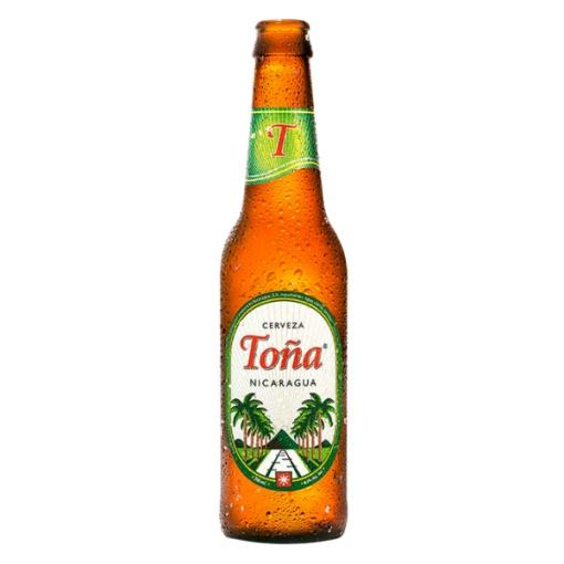 Cerveza TOÑA Botella 24 x 350 ml.