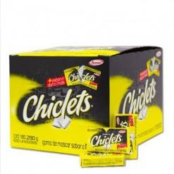 Chiclets ADAMS Pequeño Menta 54 x (Display 100 u)