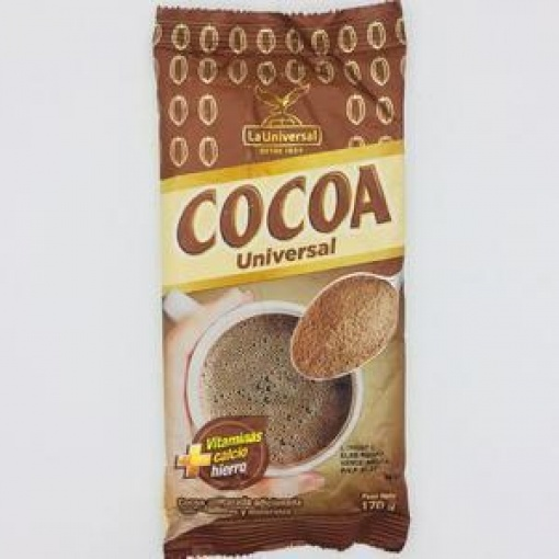 Cocoa en Polvo LA UNIVERSAL 70 x 160 gr.