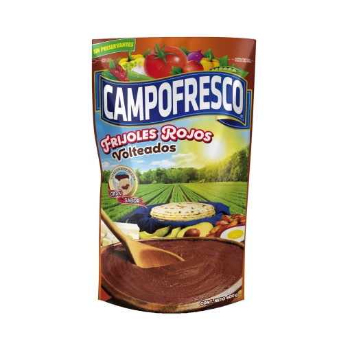 Frijoles Rojos Volteados CAMPOFRESCO 24 x 400 gr