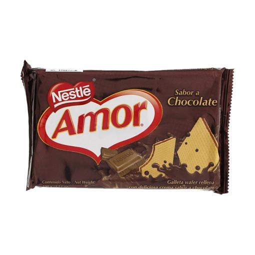 Galletas Wafer AMOR Chocolate 60 x 100 gr