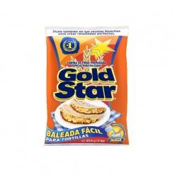 Harina Baleada Fácil Gold Star 25 x 454 gr