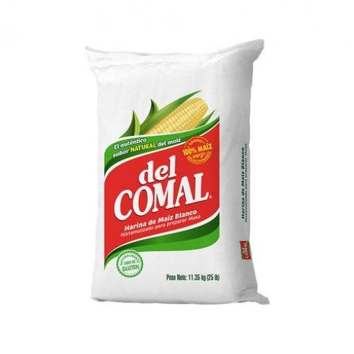 Harina de Maíz DEL COMAL 11,34 kg.