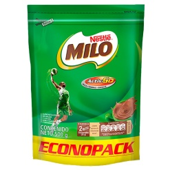 MILO Colombiano Doypack 12 x 500 gr.