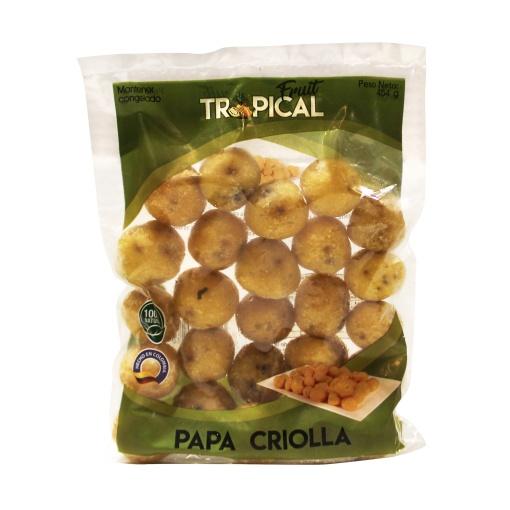Papa Criolla Congelada FRUIT TROPICAL 16 x 454 gr.