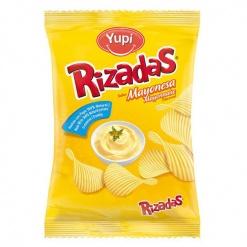 Patatas Rizadas YUPI Sabor Mayonesa 20 x 115 gr