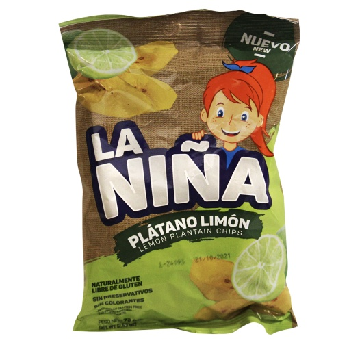 Platanitos Limón LA NIÑA 24 x 75 gr.