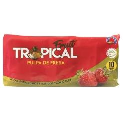 Pulpa de Fresa FRUIT TROPICAL 8 x 900 gr. (10 x 90 gr.)