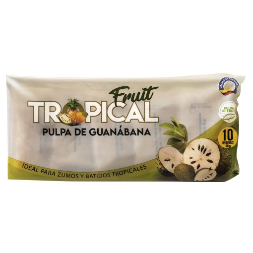 Pulpa de Guanábana FRUIT TROPICAL 8 x 900 gr. (10 x 90 gr.)