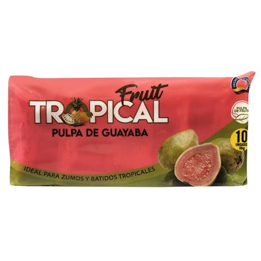 Pulpa de Guayaba FRUIT TROPICAL 8 x 900 gr. (10 x 90 gr.)