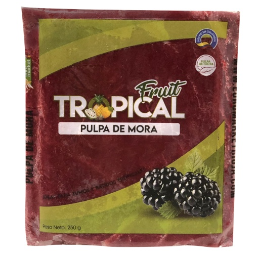 Pulpa de Mora FRUIT TROPICAL 12 x 250 gr.