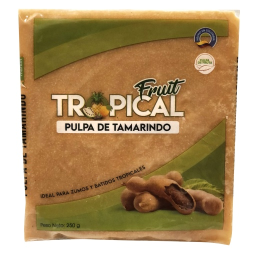 Pulpa de Tamarindo FRUIT TROPICAL 12 x 250 gr.