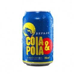 Refajo COLA Y POLA Lata 24 x 330 ml.