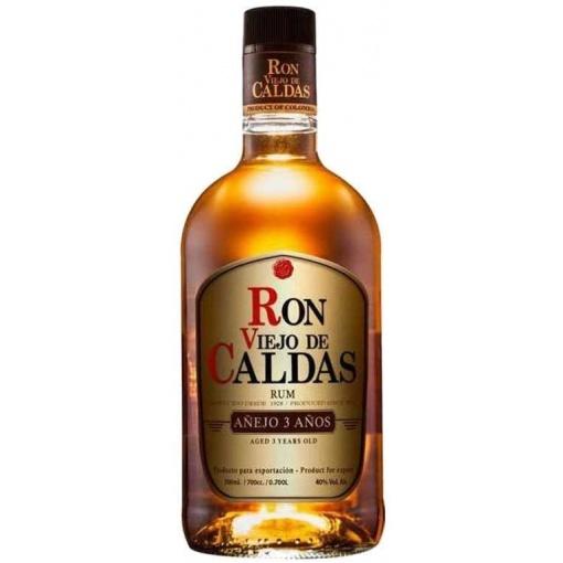 Ron Viejo de Caldas 12 x 700 ml. (3 años)
