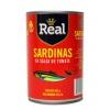 Sardina REAL en Salsa de Tomate 24 x 425 gr