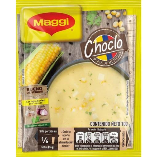 Sopas Choclo MAGGI Display 24 ud x 100gr.