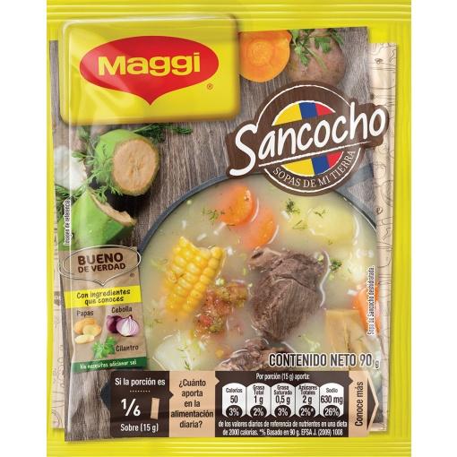 Sopas Sancocho MAGGI Display 24 ud x 90 gr.