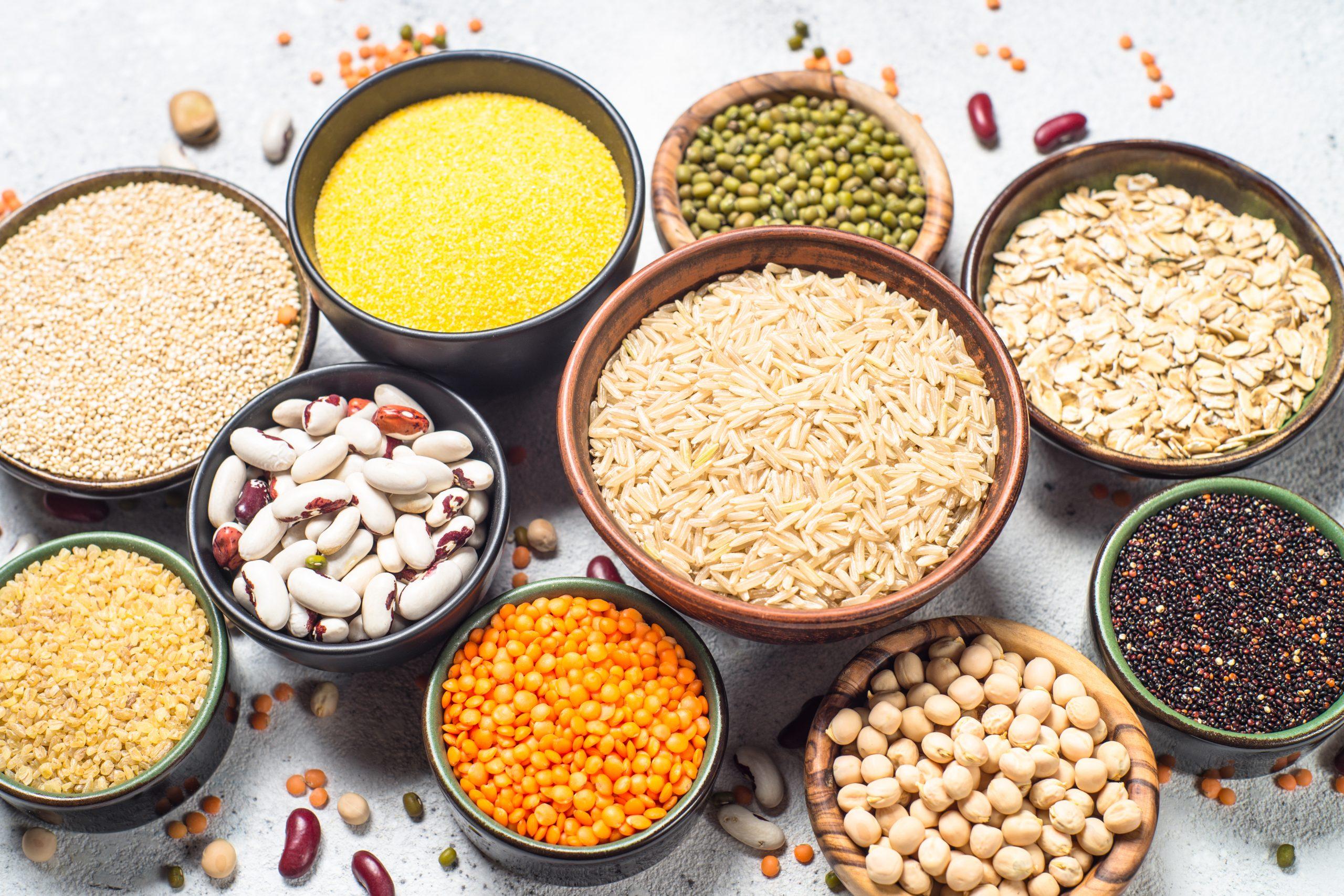Cereales, Semillas y Legumbres